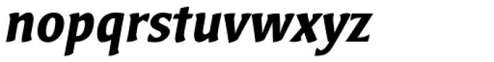 Bardi Bold Italic Font LOWERCASE