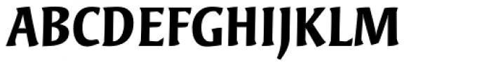 Bardi Bold Font UPPERCASE