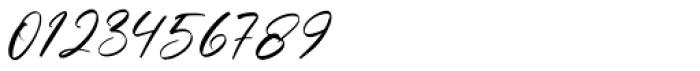 Barefood Sign Regular Font OTHER CHARS