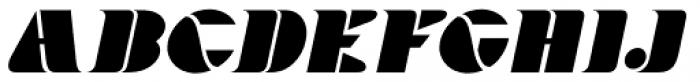 Bargain Shopping Oblique Font UPPERCASE