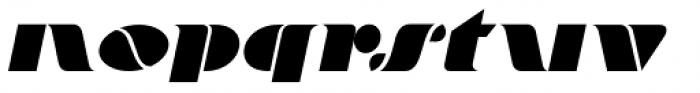 Bargain Shopping Oblique Font LOWERCASE