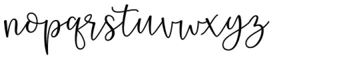 Bargetta Regular Font LOWERCASE
