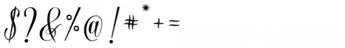 Baristafi Regular Font OTHER CHARS