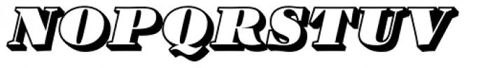Barkley Block Italic Font UPPERCASE