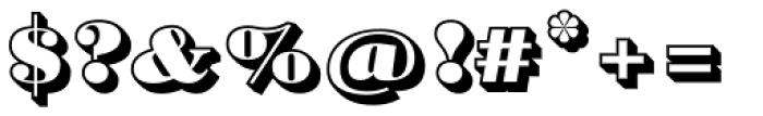 Barkley Block Font OTHER CHARS