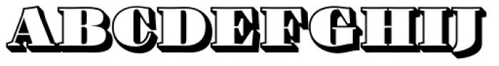 Barkley Block Font UPPERCASE