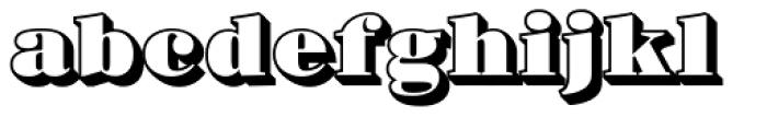 Barkley Block Font LOWERCASE