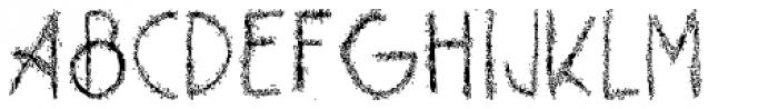 Barkley Font UPPERCASE
