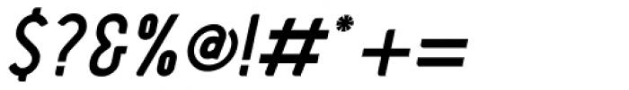 Barkpipe Bold Italic Font OTHER CHARS
