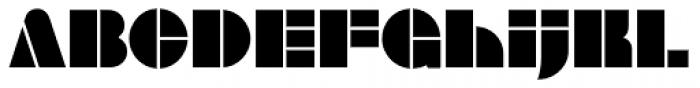 Baro Black Font UPPERCASE