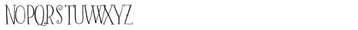 Barocca Monograms (250 Impressions) Font LOWERCASE