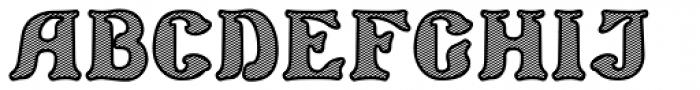 Barollo Shaded Font UPPERCASE