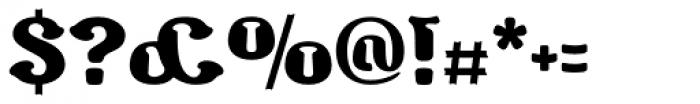 Barollo Font OTHER CHARS