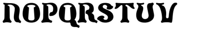Barollo Font UPPERCASE