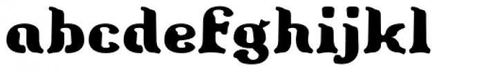 Barollo Font LOWERCASE