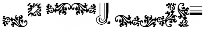 Baroque Borders B Font OTHER CHARS