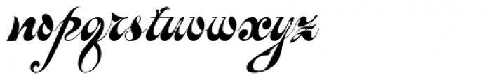 Baroque Mortale Font LOWERCASE
