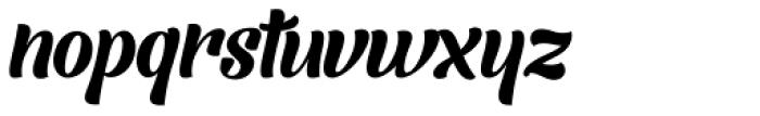 Barracuda Script Font LOWERCASE