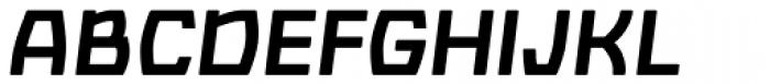 Barrez Bold Italic Font UPPERCASE