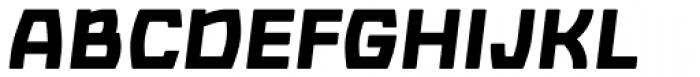 Barrez Heavy Italic Font UPPERCASE