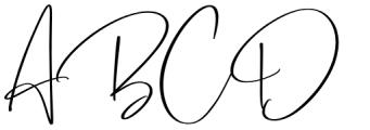 Barrington Regular Font UPPERCASE
