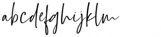 Barrington Regular Font LOWERCASE