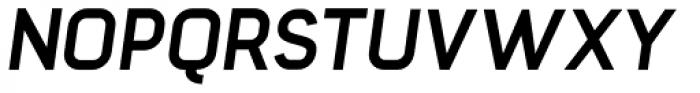 Barrister Sans Bold Italic Font UPPERCASE