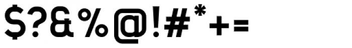 Barrister Sans Bold Font OTHER CHARS