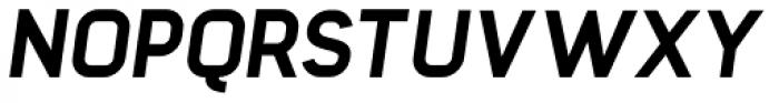 Barrister Sans ExtraBold Italic Font UPPERCASE