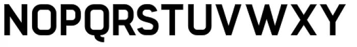 Barrister Sans ExtraBold Font UPPERCASE