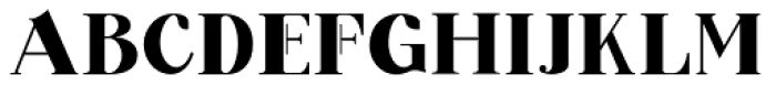 Barsillago Black Font UPPERCASE