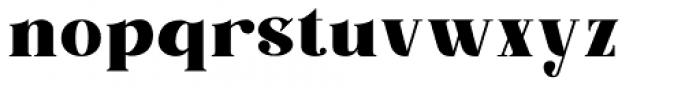 Barsillago Black Font LOWERCASE