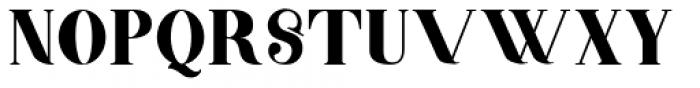 Barsillago Bold Font UPPERCASE