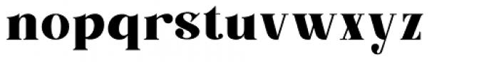 Barsillago Bold Font LOWERCASE
