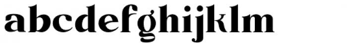 Barsillago Demi Bold Font LOWERCASE