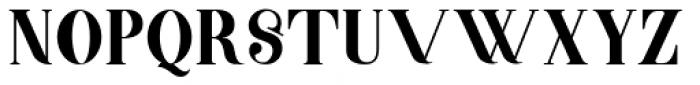 Barsillago Normal Font UPPERCASE