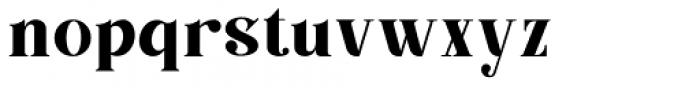 Barsillago Normal Font LOWERCASE