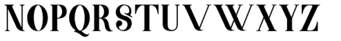 Barsillago Ultra Light Font UPPERCASE