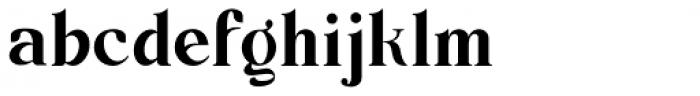 Barsillago Ultra Light Font LOWERCASE