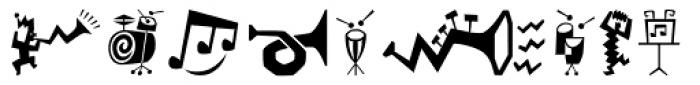 Bartalk Font UPPERCASE