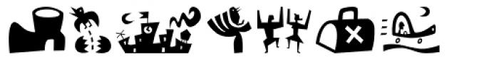 Bartalk Font LOWERCASE