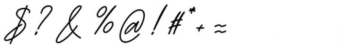 Bartdeng Regular Font OTHER CHARS
