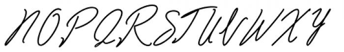 Bartdeng Regular Font UPPERCASE