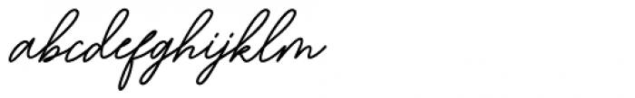 Bartdeng Regular Font LOWERCASE