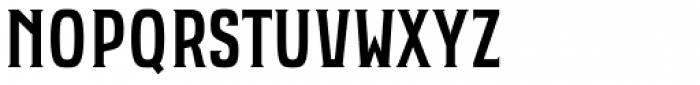 Bartender Font UPPERCASE