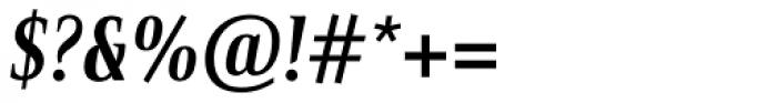 Bartholeme ExtraBold Italic Font OTHER CHARS