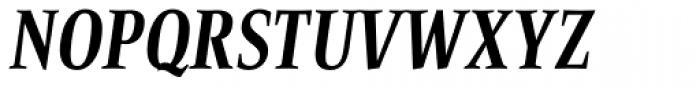 Bartholeme ExtraBold Italic Font UPPERCASE