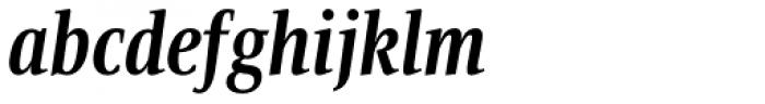 Bartholeme ExtraBold Italic Font LOWERCASE