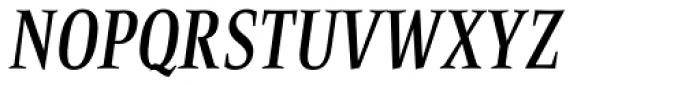Bartholeme Medium Italic Font UPPERCASE