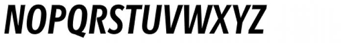 Bartholeme Sans ExtraBold Italic Font UPPERCASE